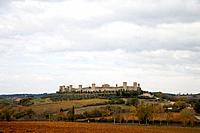 Italy, Tuscany, Montereggioni