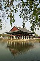 Gyeonghoenu Pavilion, Gyeongbokgung Palace, Seoul, South Korea