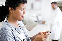 Doctor Text Messaging from Cell Phone