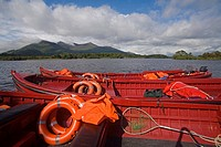 Lough Leane, Killarney National Park, County Kerry, Ireland, Tour boats