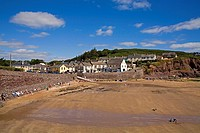 Dunmore East, County Waterford, Ireland, Beach and fishing village