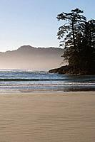 Chesterman´s Beach near Tofino on Vancouver Island, British Columbia, Canada