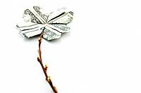 Flower made of US currency
