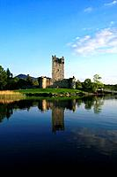 Ross Castle at Lough Leane in Killarney, Kerry, Ireland