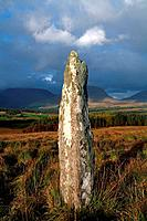 Standing Stone at Blackwater near Kenmare, Co Kerry, Ireland