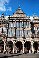 Germany, Bremen, Markt, Rathaus, Town Hall