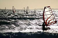 Windsurfers, Cape Town, South Africa