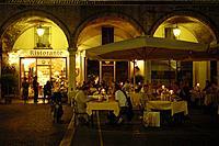 Restaurante Grifone, Piazza delle Erbe, Mantova, Lombardy, Italy