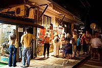 Souvenir shop in the Town museum Nesebar, Black Sea, Bulgaria