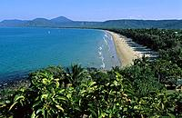 vVew towards Four Mile Beach, Port Douglas, Queensland, Australia