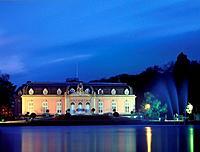 Benrath castle, Duesseldorf, North_Rhine_Westphalia, Germany