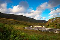 outdoor photo, Aasleagh Falls at Killary Harbour, County Mayo, Ireland, Europe