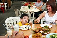 Taman Sri Tebrau Hawker Food Center, Johor Bahru, Malaysia