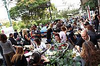 Street café at Sheinkin Street, Tel Aviv, Israel