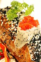 Sesame salmon (thumbnail)