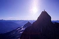 Mountaineering, Mount Stiletto, BC, Canada