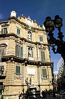 Quattro Canti Palermo Sicily Date: 28 05 2008 Ref: ZB693_114318_0037 COMPULSORY CREDIT: World Pictures/Photoshot