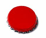 red bottle lid