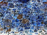 florianopolis art craft with stones on a wall