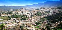 ouro preto mg aerial view of the historical city architecture