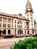 sao paulo sp julio prestes station colonial style building