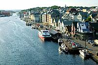 The harbour in Haugesund, Norway