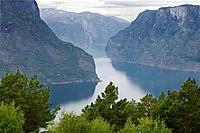 Aurland fjord, Norway