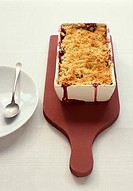Family summer fruit crumble