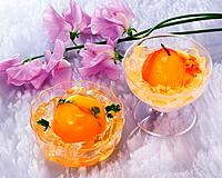 Orange Jelly, High Angle View