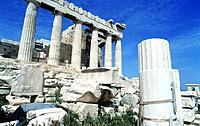 greece athens acropolis city old greek ruins