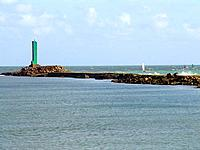 a lighthouse building at rio grande do norte