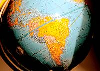 an earth map globe for geography
