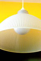 an exotic lampshade chandelier
