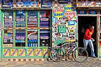 Morocco, Meknes Tafilalet region, Meknes, shop