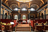 United Kingdom, Northern Ireland Ulster, Belfast, Hotel and restaurant The Merchant in the former Ulster Bank building