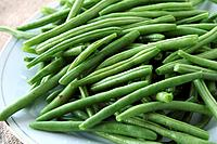 Bunch fresh green beans