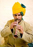 Musician, Jodhpur, Rajasthan, India