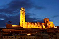 Cathedral, Lleida. Catalonia, Spain