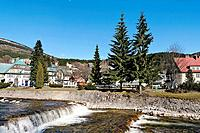 Czech Republic, Krkonose Mountains, Spindleruv Mlyn, Northern Bohemia, Ski Resort Spindleruv Mlyn, Bohemia, Country, C