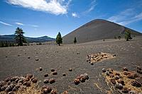 USA, America, United States, North America, Cinder Cone, California, Crater, Clouds, Landscape, scenery, Scenic, North