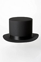 Close_up of black hat