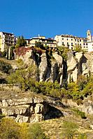 Hoz del Huecar and Hanging Houses, Cuenca. Castilla-La Mancha, Spain