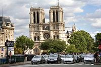 Notre Dame cathedral. Paris. France.
