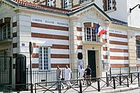 Infant school, Paris, France