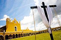 Monastery of St. Antony of Padua, Izamal. Yucatan, Mexico