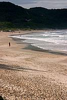 Beach of the Rose, Imbituba, Santa Catarina, Brazil