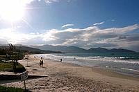Beach, Garopaba, Santa Catarina, Brazil