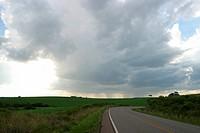 Highway, Vacaria, Rio Grande do Sul, Brazil