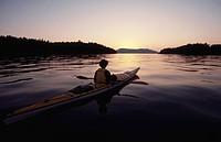 Kayaking, Vancouver Island, BC