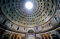 Italy Rome The Pantheon interior